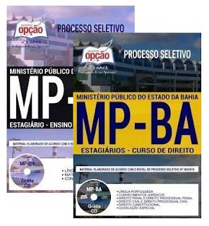 Apostila do MP BA ESTAGIÁRIO - ENSINO MÉDIO