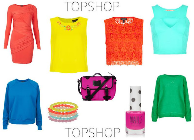 Topshop Neon Fashion