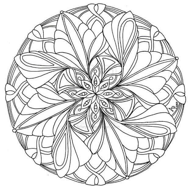 Mandala Coloring Pages Coloring Pages For Kids