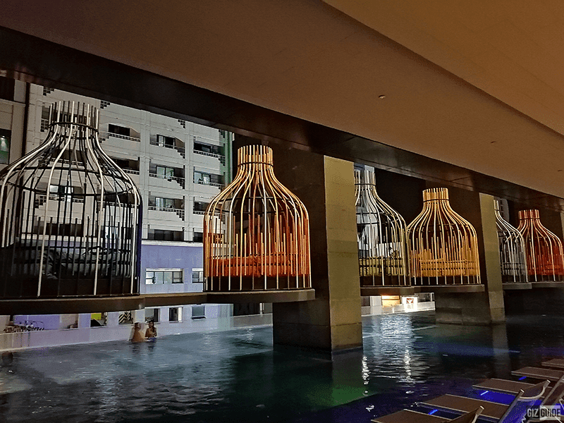 Pool area of I'M Hotel