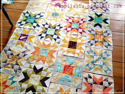 Double Star, Blossom Heart Quilts, The Bee Hive, Quilting Bee, Quilt Block, Puppilalla