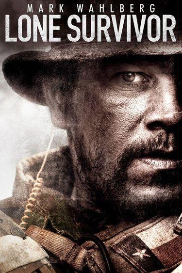 Poster of Lone Survivor 2013 Full Hindi Dual Audio Movie Download BluRay 720p