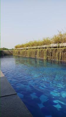 kolam renang reddoorz taman lebak bulus