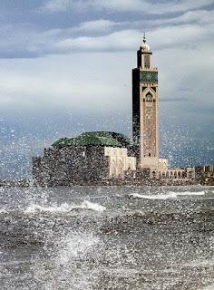 El Hank Lighthouse of Morocco