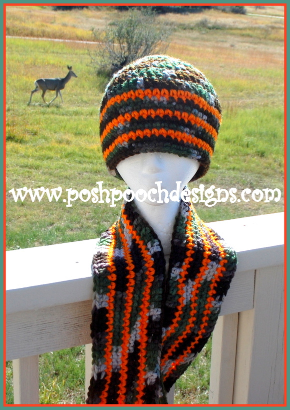 Posh Pooch Designs Dog Clothes Camo And Orange Hunting