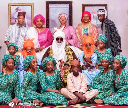 This is Emir Sanusi's 18-year-old Bride, Sa'adatu Barkindo-Musdafa