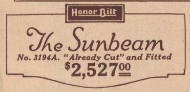 sears sunbeam 1925 catalog