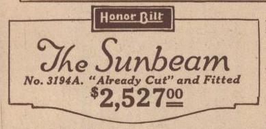 sears sunbeam 1925 catalog