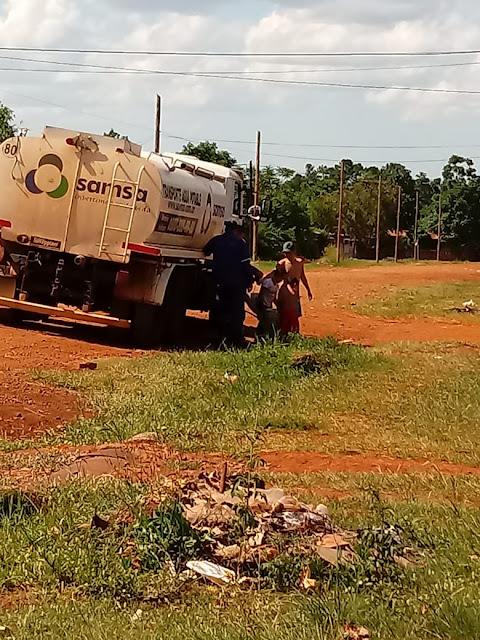 Posadas : La zona Sur  sin agua potable por reparación de acueducto