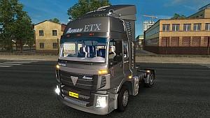 Foton Auman ETX truck mod