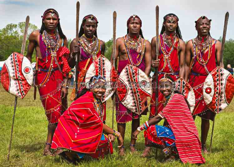 Maasai People Most Educated Tribes In Kenya , Maasai Culture ,  Dressing , Maasai Dance