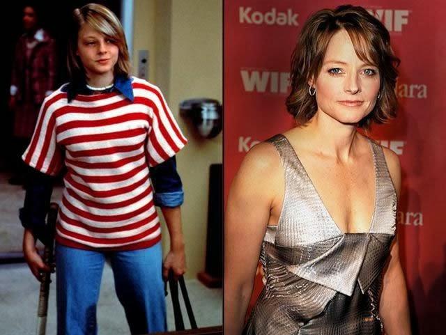 El Que Tuvo No Retuvo Famosos Y Famosas Antes Y Depués Jodie Foster