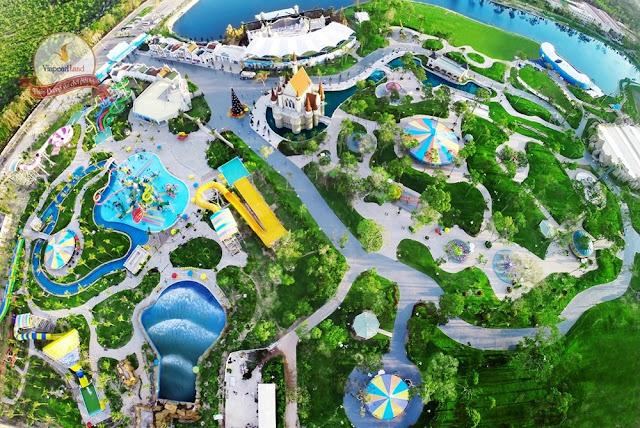 Khu công viên giải trí tại Vinpearl Đà Lạt