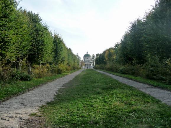 Подгорецкий замок. Аллея к костёлу св. Йосипа