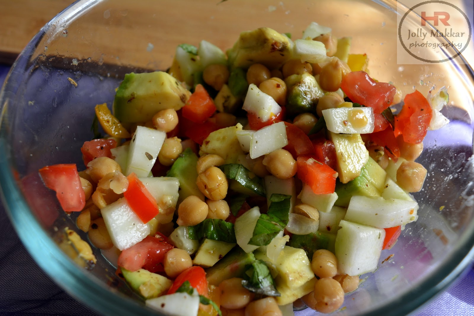 Chickpeas Avocado Salad