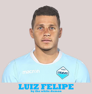 PES 2019 Faces Luiz Felipe Ramos Marchi by The White Demon