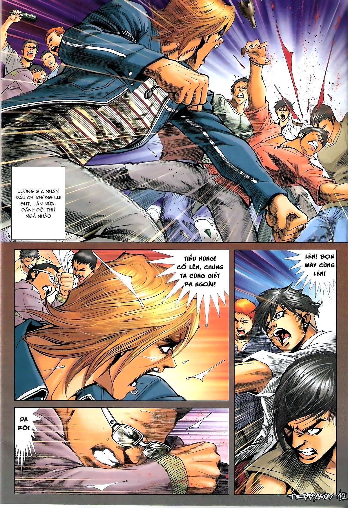 Người Trong Giang Hồ - Chapter 1345: Con của Chó Xám - Pic 11