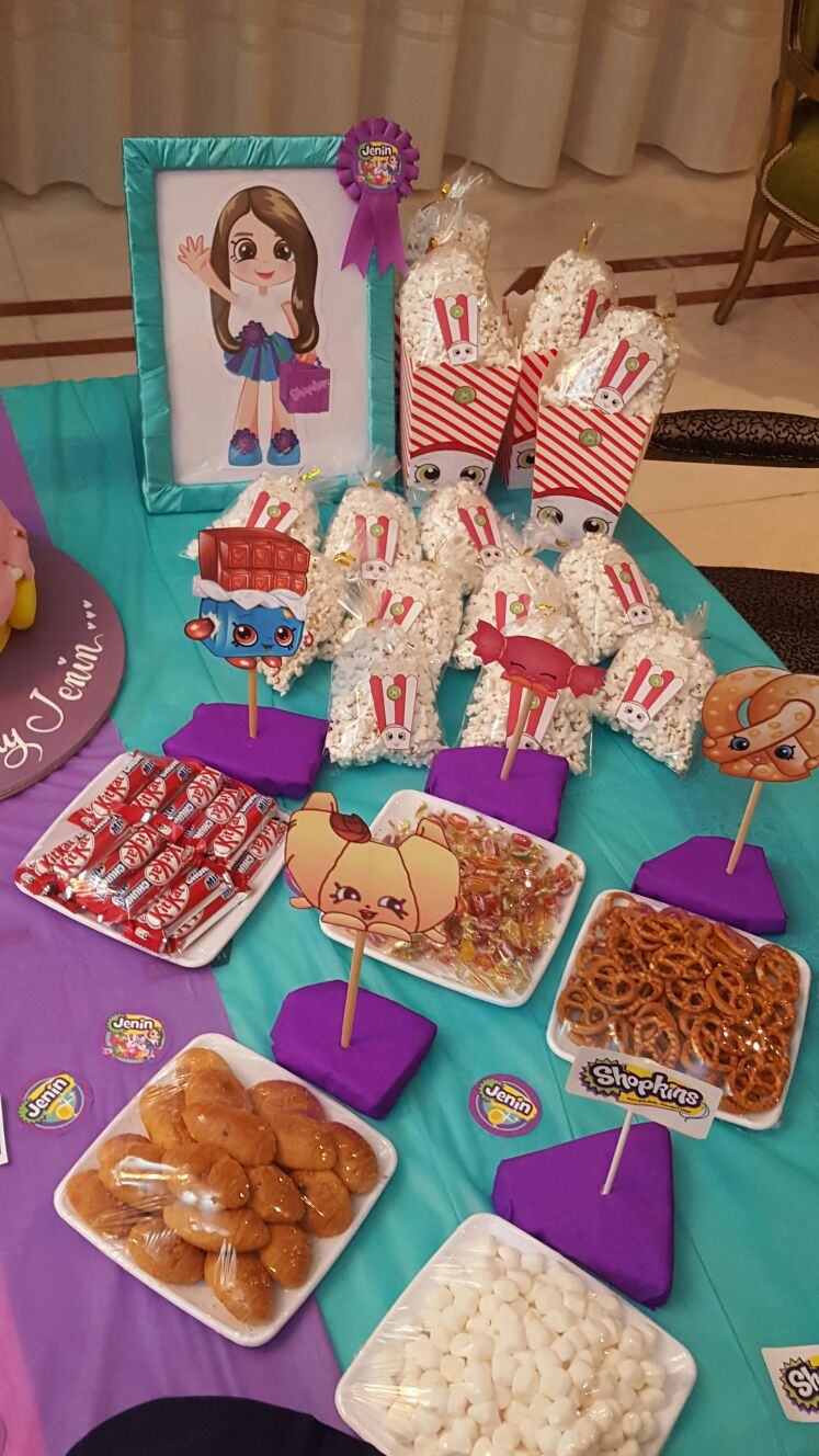 Butterflies And Bees Shopkins Birthday Party