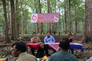 Wabup Blora Arief Rohman Tanam Kelor Di Tegakan Jati Perhutani Kebonharjo 3