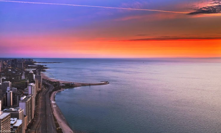 4. Lake Shore Drive, Chicago, USA - Top 10 Scenic Rides