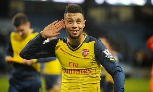 Midfielder Francis Coquelin happy at Arsenal