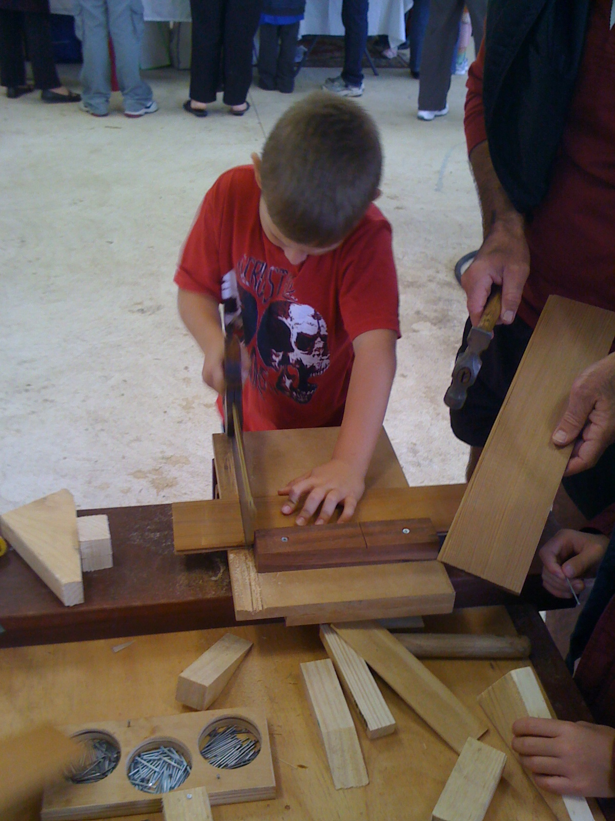 The Joy Of Wood For Kids Kids Can Readily Use Saws To Cut Wood To