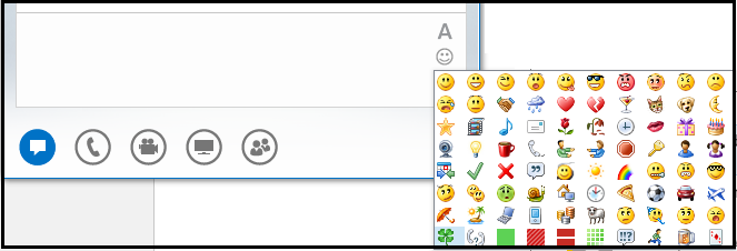 UC Administration Blog : How to disable Emoticon through