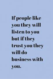 building trust in business