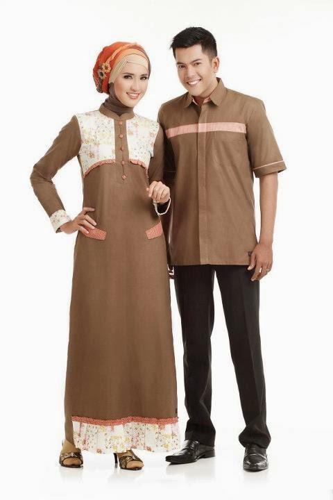 Model Baju Muslim Sarimbit Gamis 2015