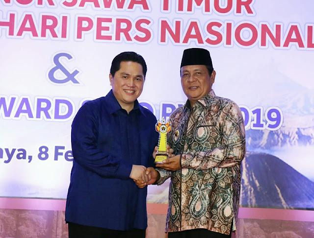 Hari Pers Nasional (HPN) 2019, Paman Birin  Raih Golden Award