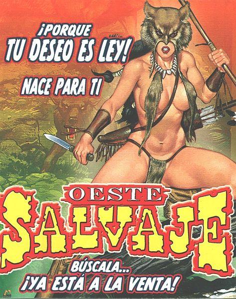 Sexy comic cover