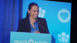 Sharice Davids at Health Action 2019