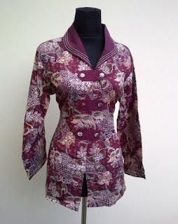 Model Baju Batik Ala Guru