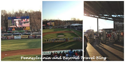Harrisburg Senators Minor League Baseball Game