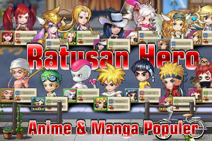 Download Manga Clash - Warrior Arena 2.20.160908 MOD Apk (All Character Of Anime) Full Free