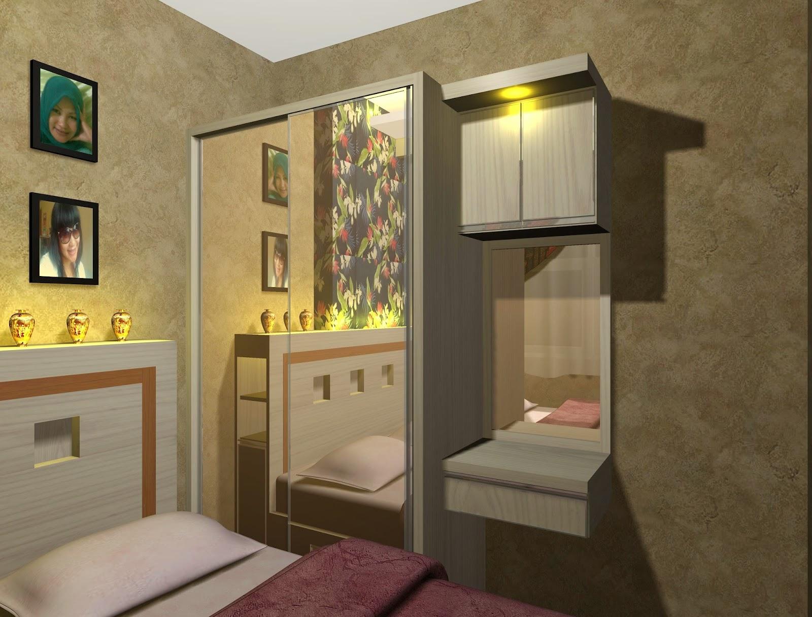 Desain Kamar Tidur Ukuran 5x5 Inspirasi Desain Rumah Dan