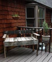 Visibly Moved Diy Pallet Deck Furniture