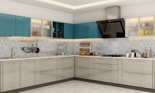 How you can effortlessly add style to your limited space with L shaped kitchen design?