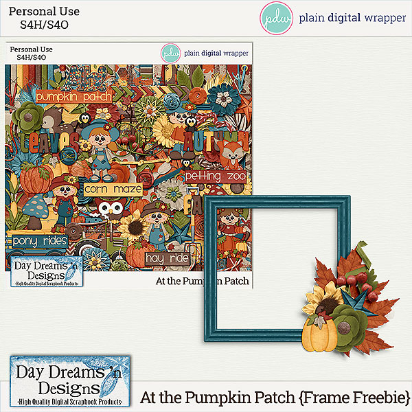 At the Pumpkin Patch now at PDW and 50% off plus a freebie!