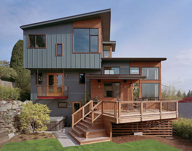 Idea 24 Modern Minimalistwooden Home