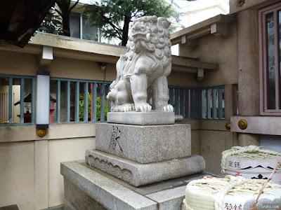 綱敷天神社狛犬