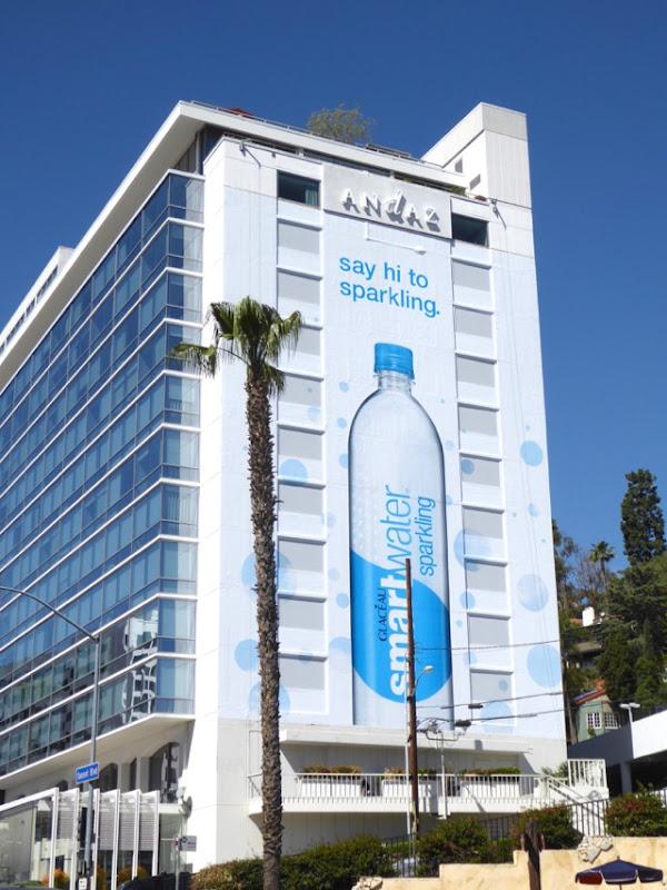 Giant Smartwater Sparkling 2017 billboard
