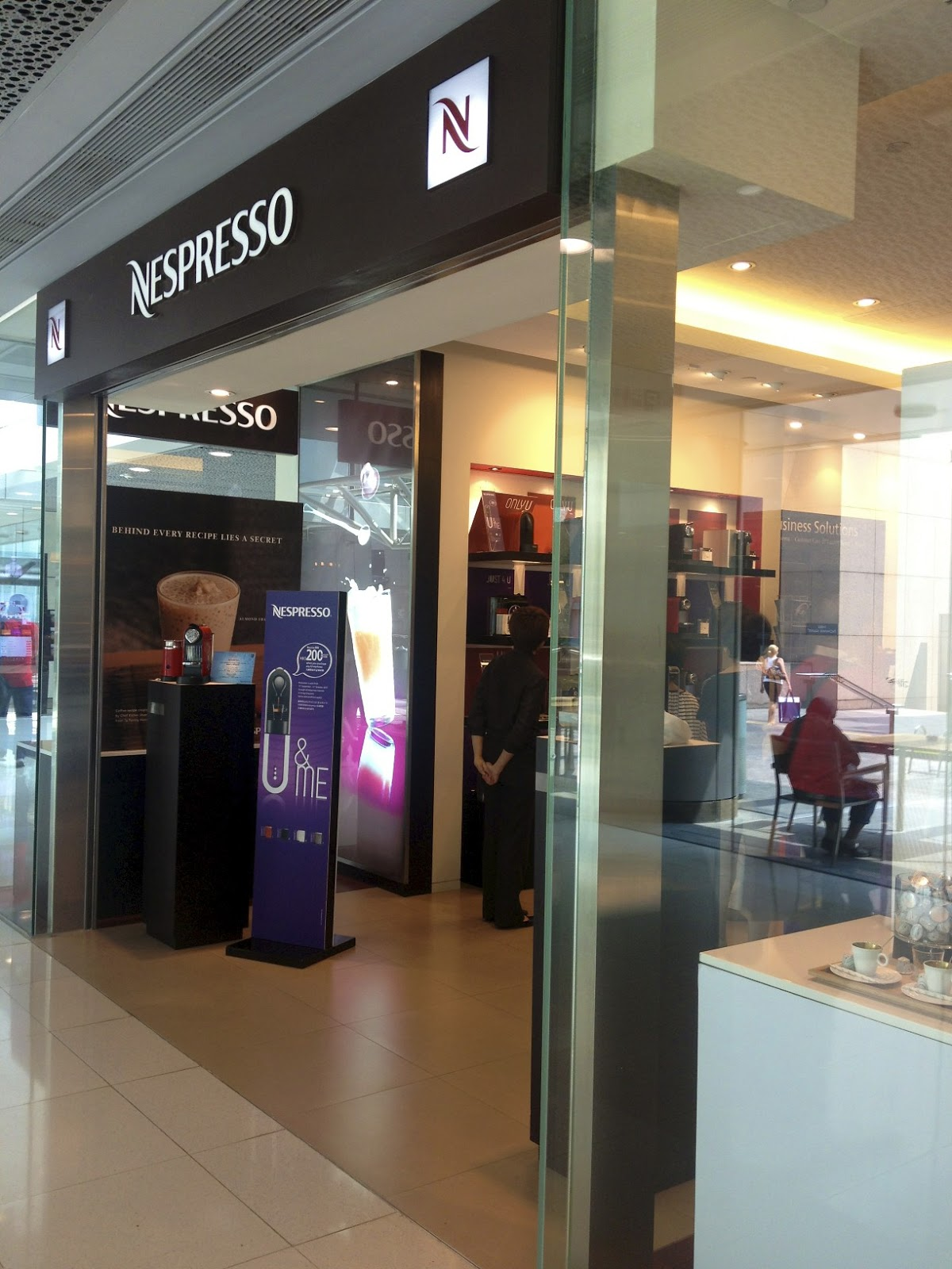 i first person singular nespresso boutique ifc mall