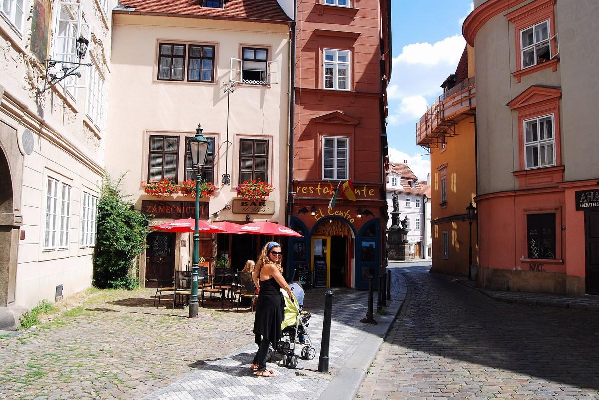 île Kampa Prague