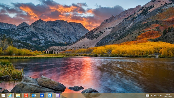 Windows 8.1 Update 1 desktop enhancements