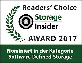 DataCore erneut für den Readers ; Choice Award nominiert!