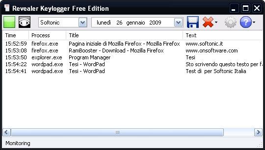 تحميل برنامج لتسجيل جميع ما يكتب بلوحة المفاتيح على حاسوبك Revealer