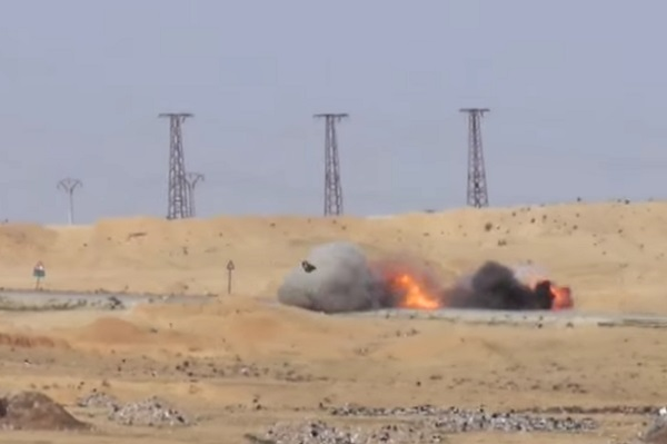 Truk Bomber ISIS Hancur dihajar rudal anti-tank Javelin