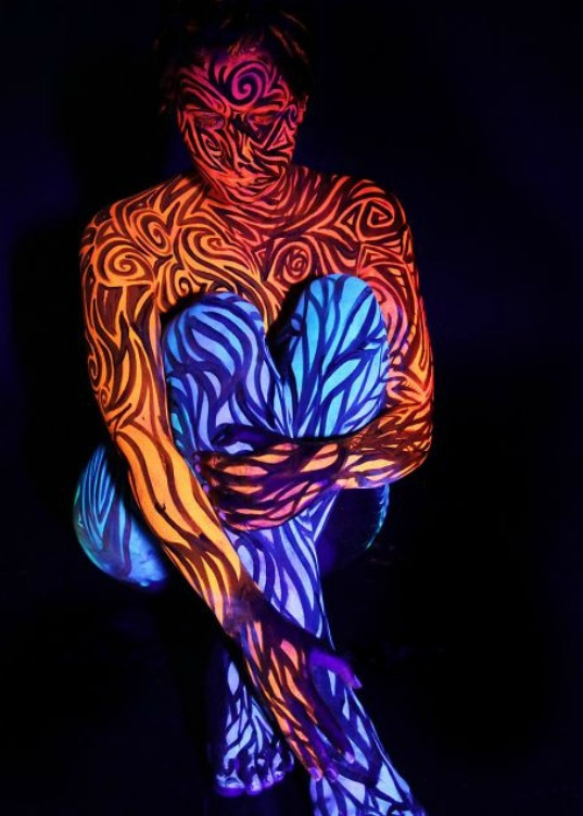 Gesine Marwedel 1987 | German Body Painting painter