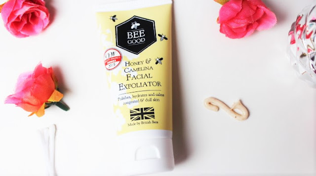 Honey & Camelina Facial Exfoliator Swatch